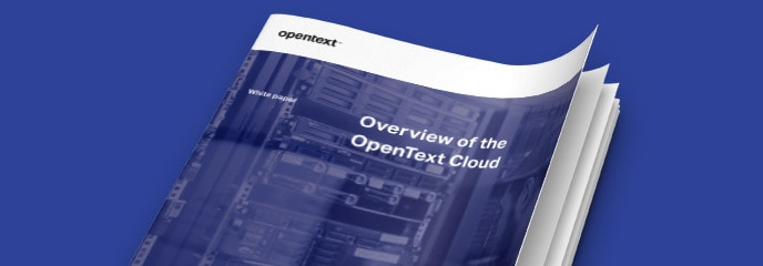 OpenText Cloud overview thumbnail
